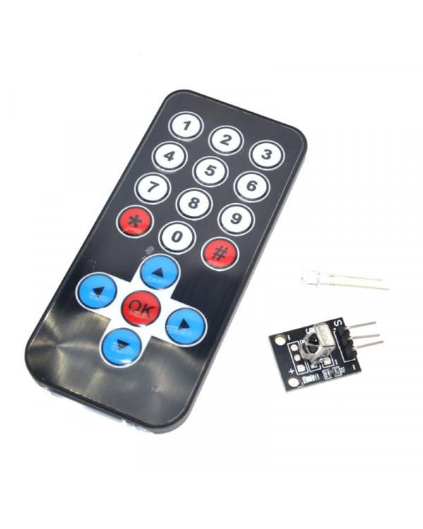 ИК датчик и пульт дистанционного управления