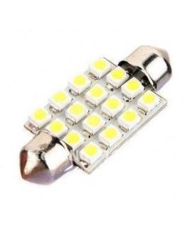 Cветодиодная лампа 31мм 16 SMD 1206
