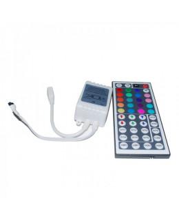 Контроллер RGB ИК с ПДУ (44кн) led-ir44-rgb 12В 6А