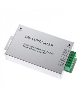 Контроллер RGB RF с ПДУ (24кн) led-rf-100-rgb 12В 12А
