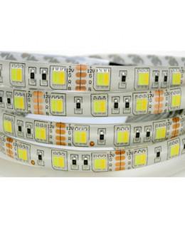 Светодиодная лента 5050 LUX LEDX60X1-SQRI-MIX MIX-белый 12В, 14,4Вт IP65