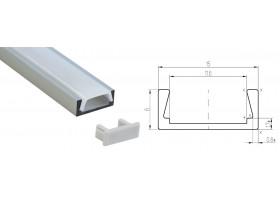 Профиль для светодиодной ленты MIC-2000