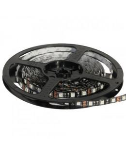 Светодиодная лента 5050 LUX LEDx60x1-BQR-RGB RGB(Мультицвет) 12В, 14.4Вт