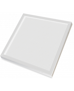 Светодиодная панель ДВО LPU-ПРИЗМА-PRO 36Вт 230В 6500К 2800Лм 595х595х19мм IP40 бел.(аналог ЛВО) LLT