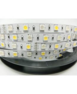 Светодиодная лента 5050 LUX LEDx30-30x1-SQR-RGBW RGB+Белый 12В, 14,4Вт
