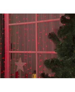 """Уличная LED гирлянда """"Занавес"""" 2х3м ПВХ LED-ZP-2x3-r Красный"""