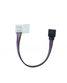 Разъем для подключения  RGB ленты 10 мм