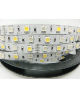 Светодиодная лента 5050 LUX LEDx30-30x1-SQR-RGBWW RGB+Теплый белый 12В, 14,4Вт