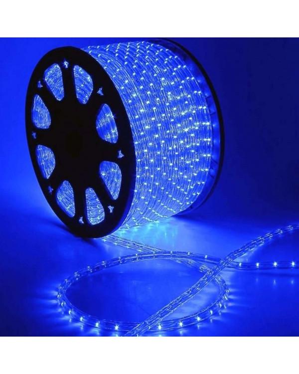 Светодиодный дюралайт 36LED 220-240В 13мм Синий Фиксинг