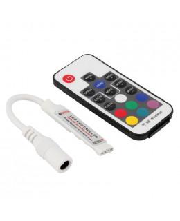 Контроллер RGB RF с ПДУ (17кн) led-rf-6-rgb 12В 12А