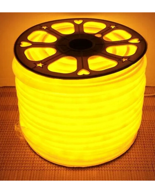 Гибкий LED неон (стандарт) Желтый 220В led-st-220v-ye