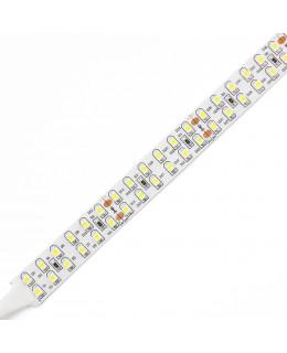 Светодиодная лента 3528 LUX LEDx240x2-SPP-Y Желтый 24В, 19.2Вт