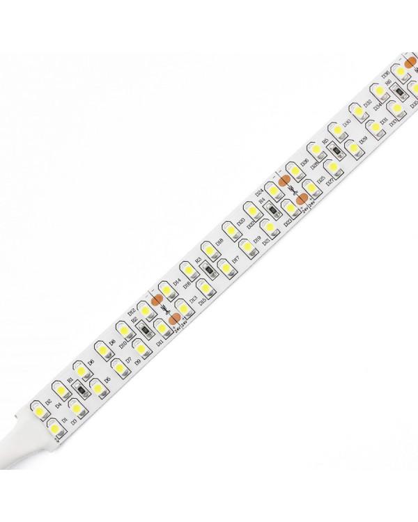 Светодиодная лента 3528 LUX LEDx240x2-SPR-W Белый 12В, 19.2Вт