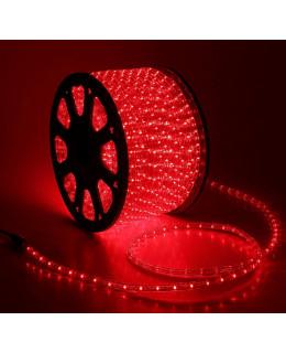 Светодиодный дюралайт 30LED 220-240В 13мм Красный Фиксинг