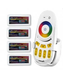 Контроллер RGBW WiFi + ПДУ WF-100 (комплект)