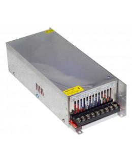 Блок питания 12В 500Вт 41.6А S-500-12 IP33 Металл