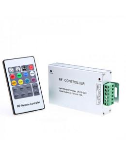 Контроллер RGB RF с ПДУ (44кн) led-rf-101-rgb 12В 12А