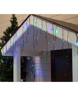 """Уличная LED гирлянда """"Бахрома"""" 3х0,6м ПВХ LED-BM-160-3x0,6-rgb RGB(Мульти)"""
