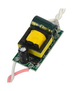 Драйвер для светодиодов 4-7х1Вт 300мА