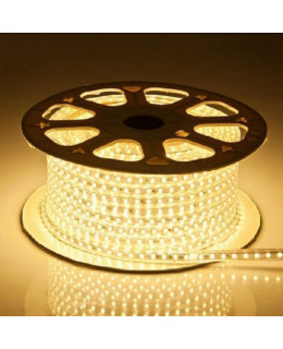 Светодиодная лента 3014 LEDх120х1-V220-WW Теплый белый 220В  IP67