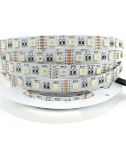 Светодиодная лента 5050 LUX LEDx60x1-SQR-RGBW RGB+Белый 12В, 14,4Вт