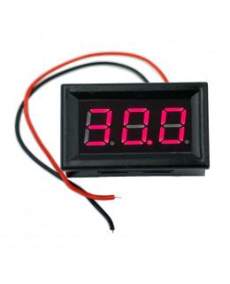 Вольтметр VL-11-R 0-300В Красный