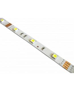 Светодиодная лента 5050 LUX LEDx30x1-SQR-W Белый 12В, 7.2Вт