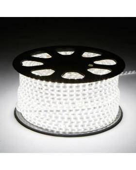 Светодиодная лента 3014 LEDх120х1-V220-W Белый 220В  IP67