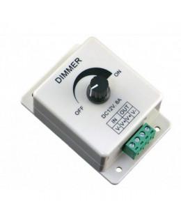Контроллер-диммер для ленты led-dm96 12В 8А