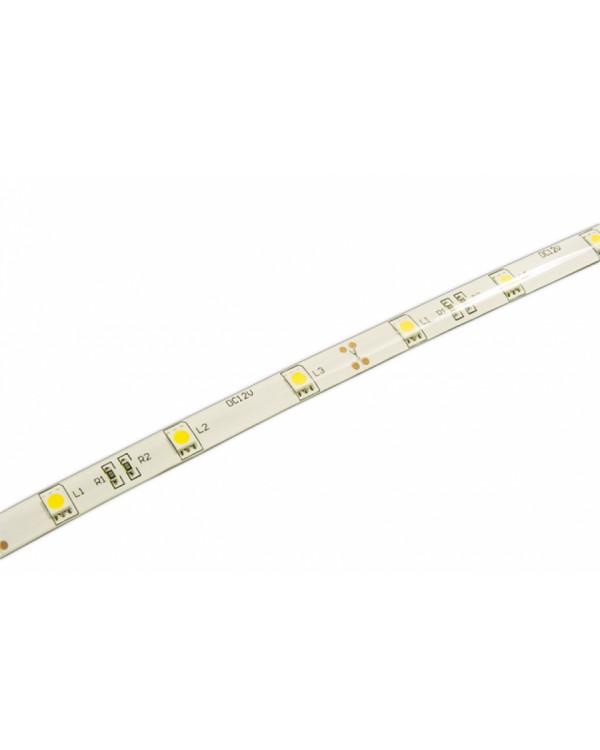 Светодиодная лента 5050 LUX LEDx30x1-SQRI-B Синий 12В, 7.2Вт IP65