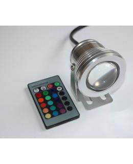 Светодиодный прожектор 10Вт RGB IP65