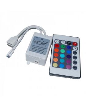 Контроллер RGB ИК с ПДУ (24кн) led-ir24-rgb 12В 6А