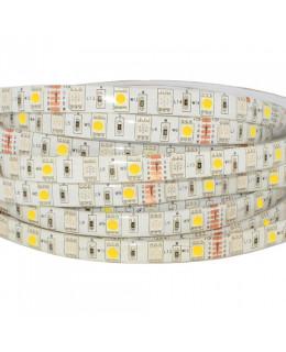 Светодиодная лента 5050 LUX LEDx30-30x1-SQRI-RGBW RGB+Белый 12В, 14,4Вт IP65