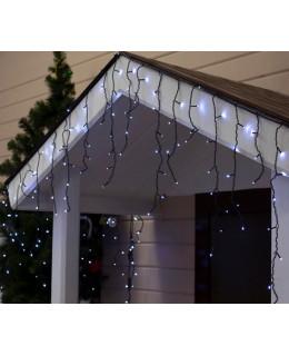 """Уличная LED гирлянда """"Бахрома"""" 3х0,6м ПВХ LED-BM-160-3x0,6-w Белый"""