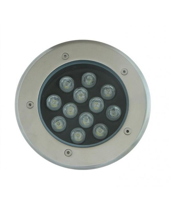 Грунтовый светильник LED 12Вт 220В GR-12w-220vww Теплый белый