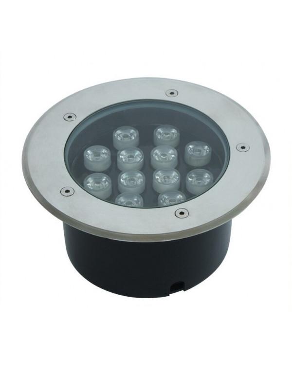 Грунтовый светильник LED 12Вт 24В GR-12w-24vww Теплый белый