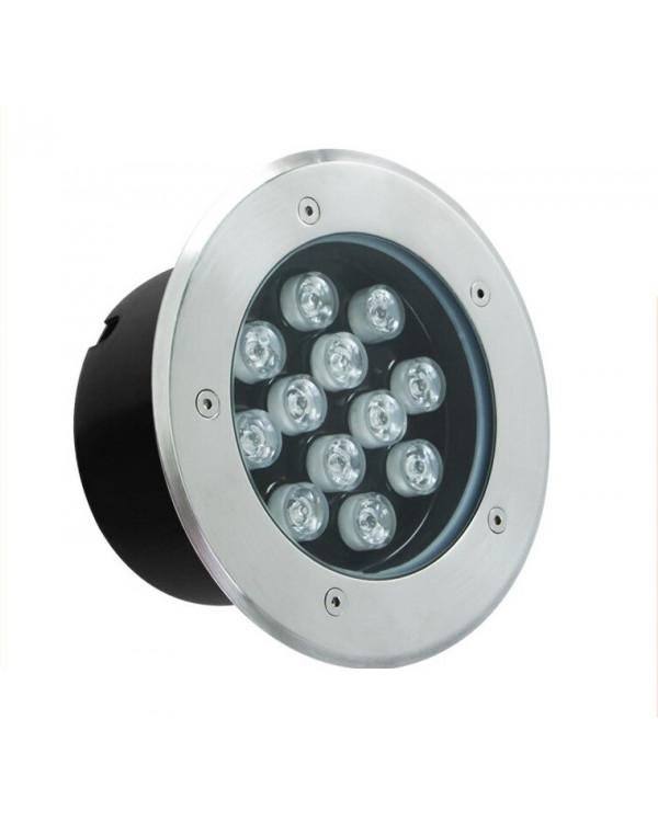 Грунтовый светильник LED 12Вт GR-12w-220vr Красный